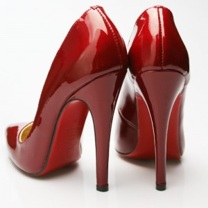 charity chics red heels